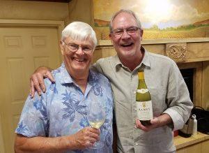 David Stare of Dry Creek Vineyards and David Ramey of Ramey Wine Cellars