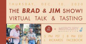 Brad and Jim Show! Virtual Talk & Tasting